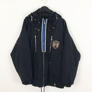 Bogner Crest Ski Winter Jacket Coat Black 40